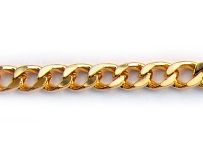 CURB CHAIN (HALF-ROUND WIRE)
