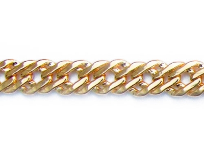 DOUBLE CURB CHAIN