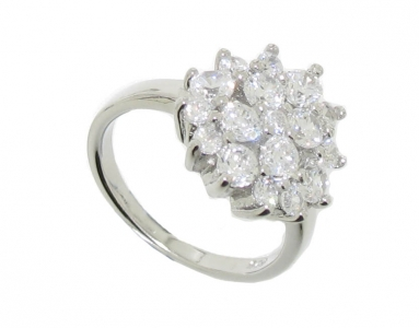 925 CLUSTER RING