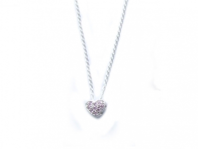 925 STERLING SMALL HEART PENDANT.