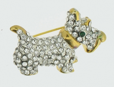 SCOTTIE BROOCH
